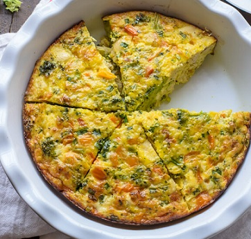 Cheesy-Chicken-Broccoli-Fritatta
