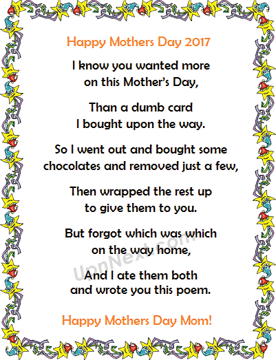 mothers day images poems