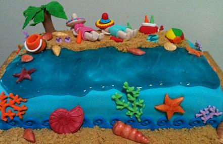beach themed birthday party ideas