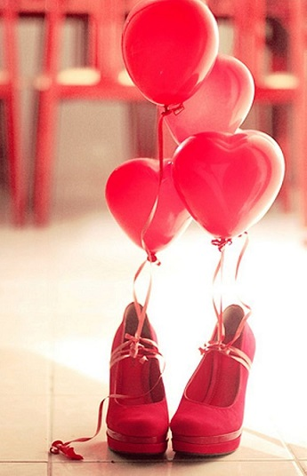 red themed birthday party