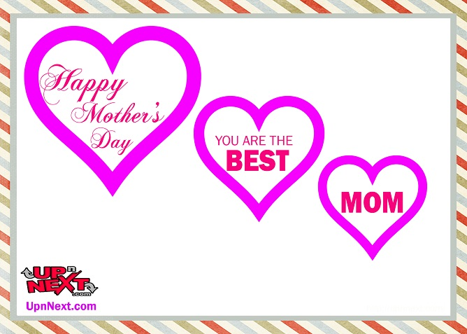 You are the best Mom Quote Image