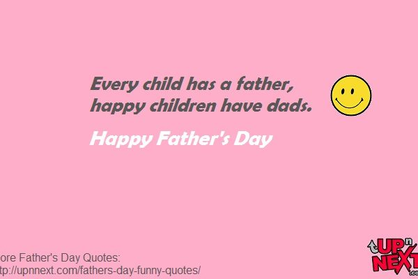 Father's Day Funny Quotes from Children