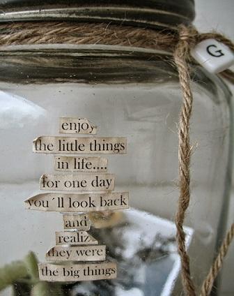 memory jar for dad on christmas