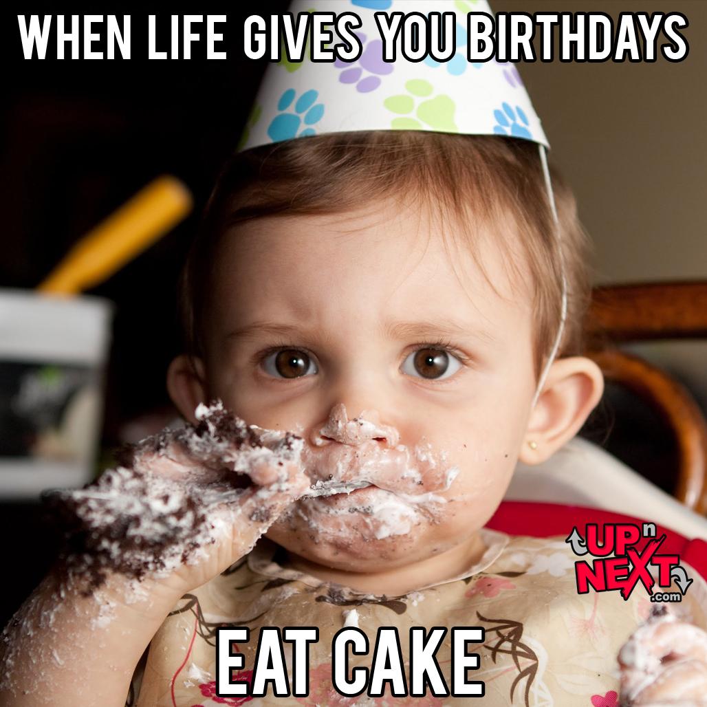 funny birthday cake meme