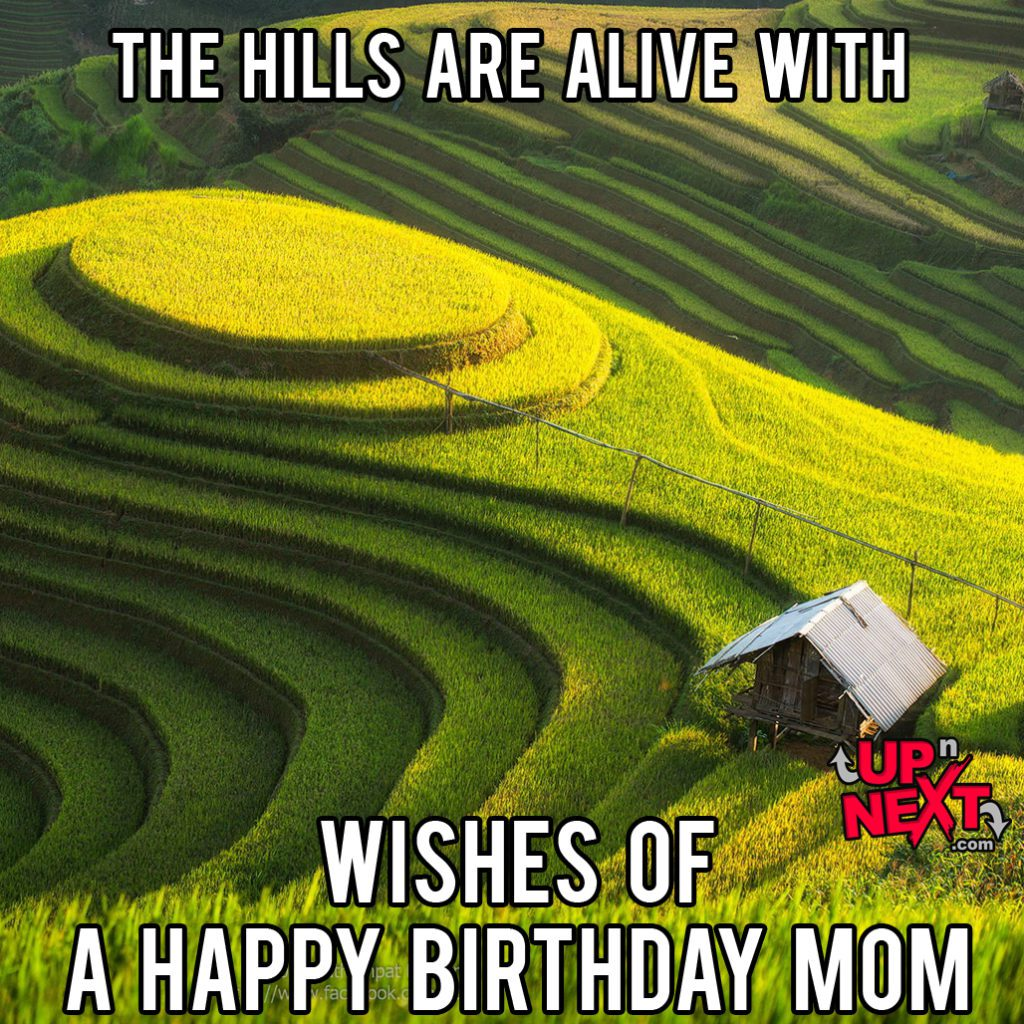 Beautiful Happy Birthday Mom Meme