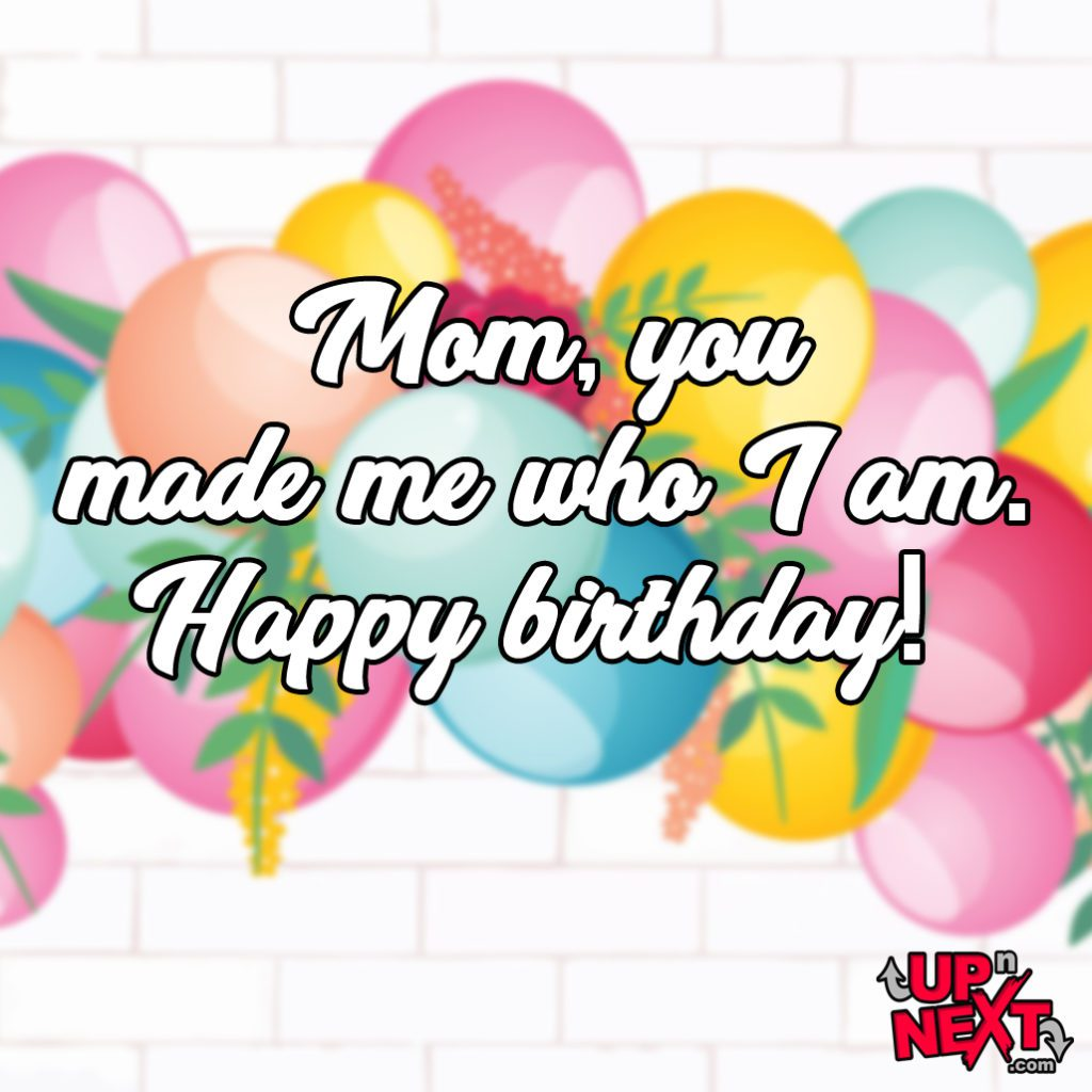 Happy Birthday Mom You Made Me Meme