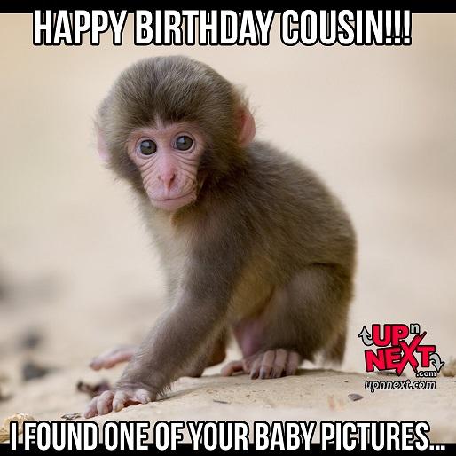happy birthday cousin meme