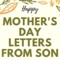 Mother's Day Letters from Son