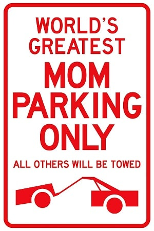 Customized Sign for Mom on Mothers Day