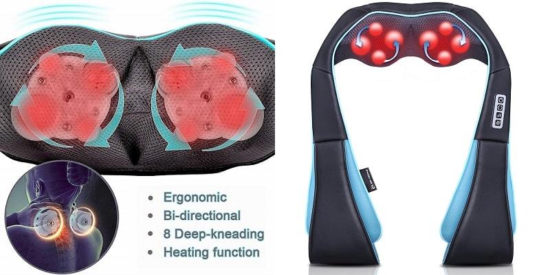 Shoulder Back Heat Massager